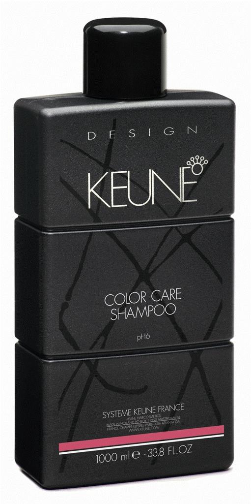 KEUNE Шампунь Стойкий цвет / COLOR CARE SHAMPOO 1000млШампуни<br>Рекомендован для поддержания стойкого результата окрашивания и прекрасного блеска. Сохранит глубину цвета в домашних условиях. Активный состав: Соламер, экстракт семян подсолнечника, протеины морского шелка. Применение: Нанесите небольшое количество шампуня на волосы. После нанесения оставьте его на волосах на 2-3 минуты, после чего вспеньте. Смойте теплой водой.<br><br>Объем: 1000<br>Типы волос: Окрашенные<br>Назначение: после окрашивания