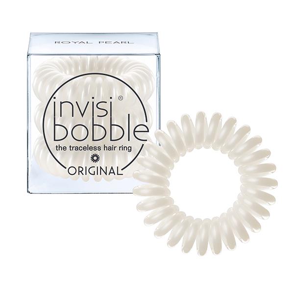 INVISIBOBBLE Резинка-браслет для волос / ORIGINAL Royal Pearl invisibobble original royal pearl резинка браслет для волос original royal pearl резинка браслет для волос
