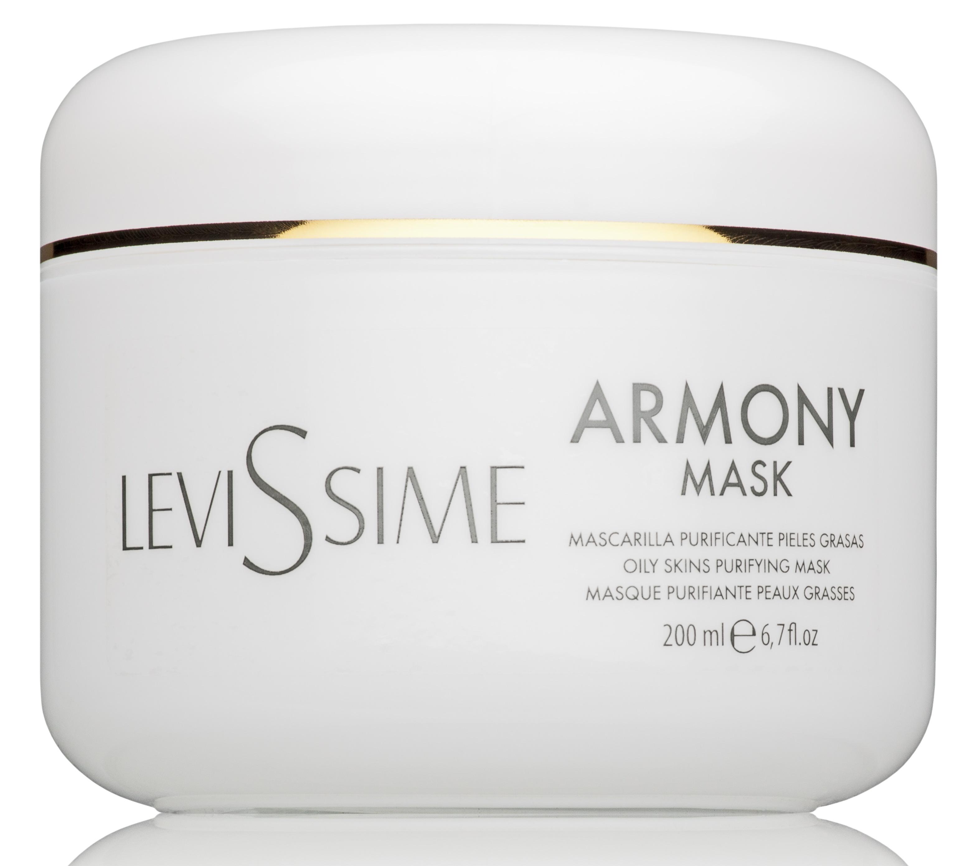 Купить LEVISSIME Маска очищающая для жирной кожи / Armony Mask 200 мл
