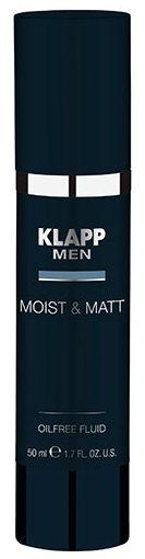 Купить KLAPP Флюид увлажняющий и матирующий для лица / MEN 50 мл
