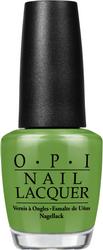 OPI Лак для ногтей Im Sooo Swamped! / New Orleans 15млЛаки<br>Im Sooo Swamped! - травянистый зеленый. Коллекция New Orleans представляет 12 новых оттенков лаков и совпадающих с ними по оттенку гелей-лаков GelColor. Почувствуйте, как Ваши пальчики с безупречным маникюром держат те самые квадратные пончики «бенье» из всемирно известного «Кафе-дю-Монд» или поднимают бокал за окончание чудесного дня на Бурбон-стрит. Палитра сладких, пряных, изысканных и выразительных оттенков просто идеальна для городка, где повсюду стихийно возникают уличные праздники, а умение танцевать на улицах заложено в крови. Способ применения: нанесите на ногти 1-2 слоя цветного лака после нанесения базового покрытия. Для придания прочности и создания блеска затем рекомендуется использовать верхнее покрытие.<br><br>Цвет: Зеленые<br>Объем: 15 мл