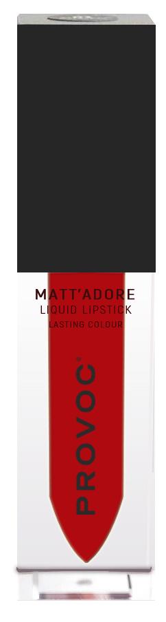 Купить PROVOC Помада жидкая матовая для губ 14 / MATTADORE Liquid Lipstick Fireball 5 г