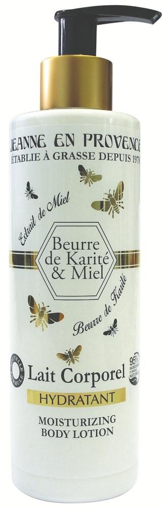 Купить JEANNE EN PROVENCE Лосьон увлажняющий для тела Масло ши и мед 250 мл