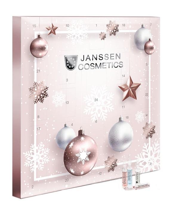 Купить JANSSEN COSMETICS Набор ампул Рождественский Календарь 2020-21 / AMPOULES 50 мл