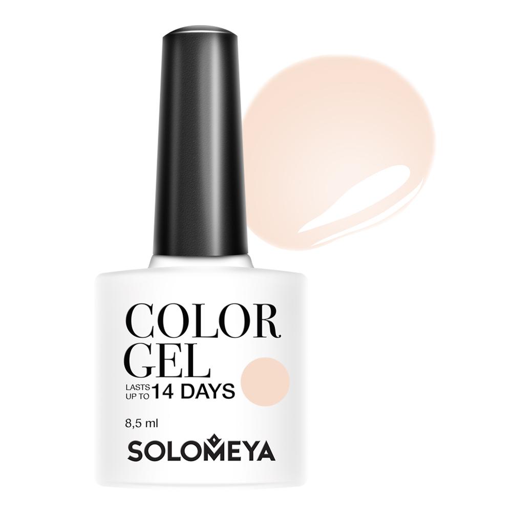 SOLOMEYA Гель-лак для ногтей 111 Бежевый кашемир / Color Gel Beige cashmere 8,5 мл -  Гель-лаки