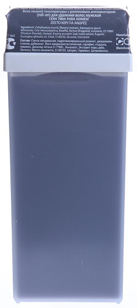 BEAUTY IMAGE Кассета с воском для тела Стальной / ROLL-ON 110млВоски<br>Воск средней плотности с добавлением масла эвкалипта и диоксида титана, в кассете с широкой насадкой для тела. Воски Beauty Image изготавливают на основе смол растительного происхождения, которые подходят даже для самой чувствительной кожи, входящие в состав активные компоненты оказывают смягчающий, успокаивающий и питательный уход. При нанесении на кожу воск быстро остывает до температуры тела, наносится по росту волос и удаляется при помощи специальной бумаги, для наилучшего эффекта рекомендуется использование средств до и после эпиляции.  Применение: 1. Очистите кожу тоником с помощью ватного диска, высушите салфетками. 2. Вставьте кассету с воском в аппликатор-нагреватель и включите его в сеть. 3. Нагревайте в течение 15-20 минут при температуре 45-50 градусов. 4. Отключить нагреватель от сети! 5. Нанесите воск на кожу по направлению волос, не вынимая кассету из нагревателя. 6. Наложите бумагу для снятия воска на зону эпиляции, оставляя примерно 1 см для захвата бумаги рукой. 7. Зафиксируйте кожу рядом с зоной эпиляции рукой, удалите бумагу резким движением руки против роста волос. Один лист бумаги может использоваться несколько раз. 8. Остатки воска и липкость удаляются при помощи цветочного масла, либо салфеток пропитанных цветочным маслом. 9. После процедуры рекомендуется использовать средства после эпиляции для снятия раздражения, для увлажнения и питания кожи, а так же средства задерживающие рост волос.<br><br>Объем: 110