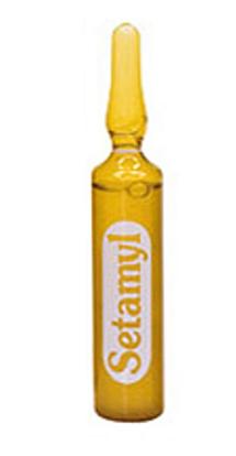 DIKSON Ампульное средство при любой щелочной обработке волос / SETAMYL 12мл