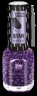 BRIGITTE BOTTIER Лак Star Shine стар шайн STS тон 423 сиреневые блестки / Star Shine12млЛаки<br>Лак Star Shine Сияние Звезд - это еще раз дань непреходящей моде на лаки с блестками от Brigitte Bottier. И в наступающем сезоне они по-прежнему актуальны особенно в холодных оттенках звездного сияния. Для долговечности маникюра наносите его строго в соответствии со способом применения: Активные ингредиенты: бутилацетат, этилацетат, нитроцеллюлоза, ацетил трибутил цитрат, адипиновая кислота/неопентил гликоль/триметиловый сополимер ангидрида, спирт изоприловый, стирол/ сополимер акрилат, стеаралкониум бетонит, силика, Н-бутиловый спирт, бензофенон-1, диацетоновый спирт, триметилпентанедил дибензоата, полиэтилен, фосфорная кислота. Способ применения: 1) нанесите Base Coat, дождитесь полного высыхания; 2) нанесите первый слой лака Star Shine, дождитесь полного высыхания; 3) нанесите второй слой лака Star Shine, дождитесь полного высыхания; 4) нанесите Top Coat, дождитесь полного высыхания. Примечание 1: лак может использоваться и поверх цветного лака,помогая создавать модный и современный образ. Каждый раз новый. Примечание 2: для ускорения сушки рекомендуется использовать Супер сушку (Super Dry Top Coat) серии Galaxy или Каплю-сушку (Drop Super Dry Top Coat) от Brigitte Bottier.<br><br>Цвет: Фиолетовые<br>Виды лака: С блестками