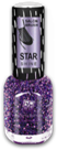 BRIGITTE BOTTIER Лак Star Shine стар шайн STS тон 423 сиреневые блестки / Star Shine12мл