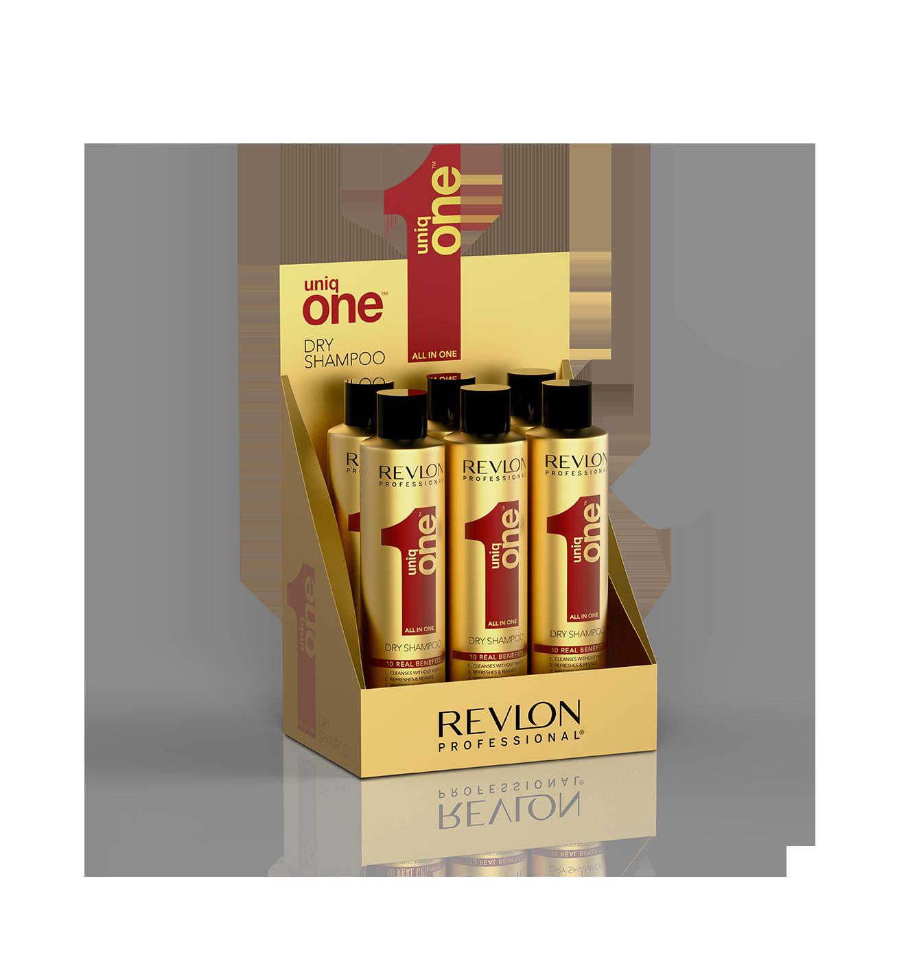 цена на REVLON Professional Набор шампуней сухой / UNIQ ONE DRY SHAMPOO 6*300 мл