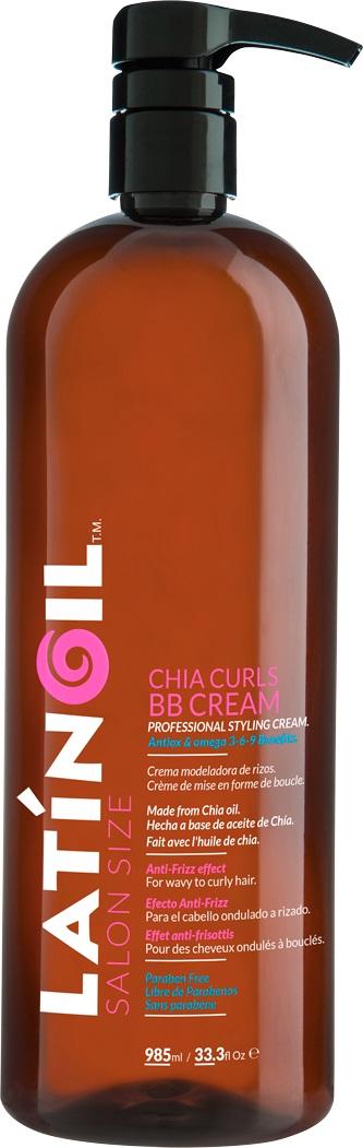 LATINOIL ВВ крем с маслом чиа для кудрявых волос / CHIA CURLS BB CREAM 985 мл - Кремы