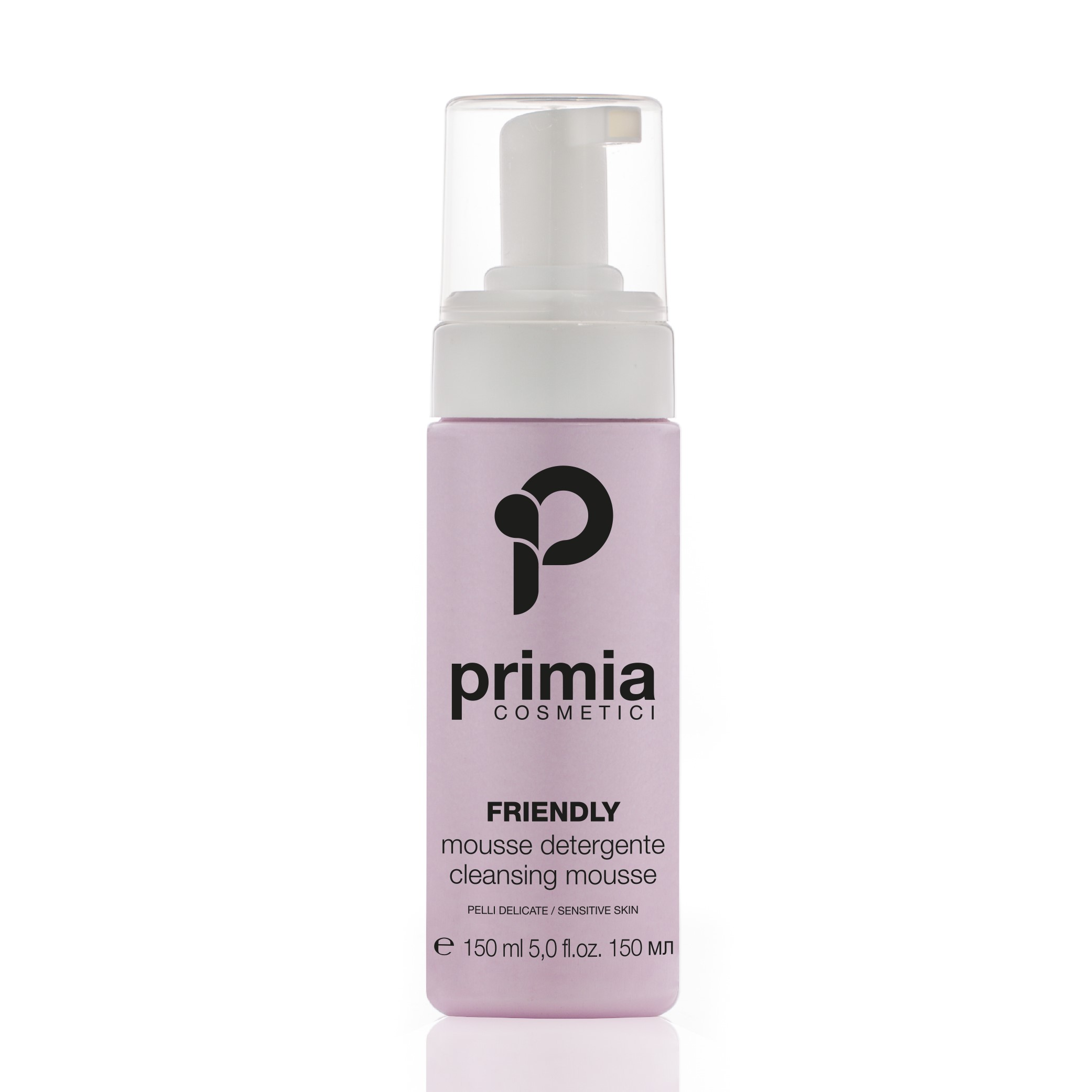 PRIMIA COSMETICI Мусс очищающий для чувствительной кожи / Friendly Sensitive cleansing mousse 150 мл - Муссы