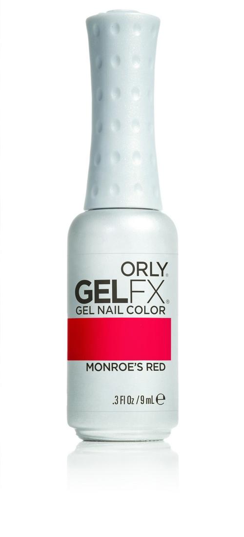 ORLY Гель-лак 52 MONROES RED / GEL FX 9мл