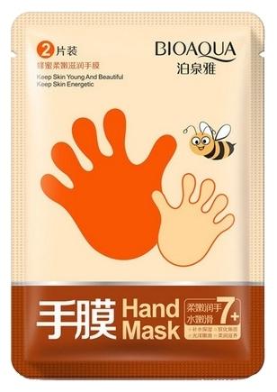 Купить BIOAQUA Маска-перчатки медовая для рук 1 пара