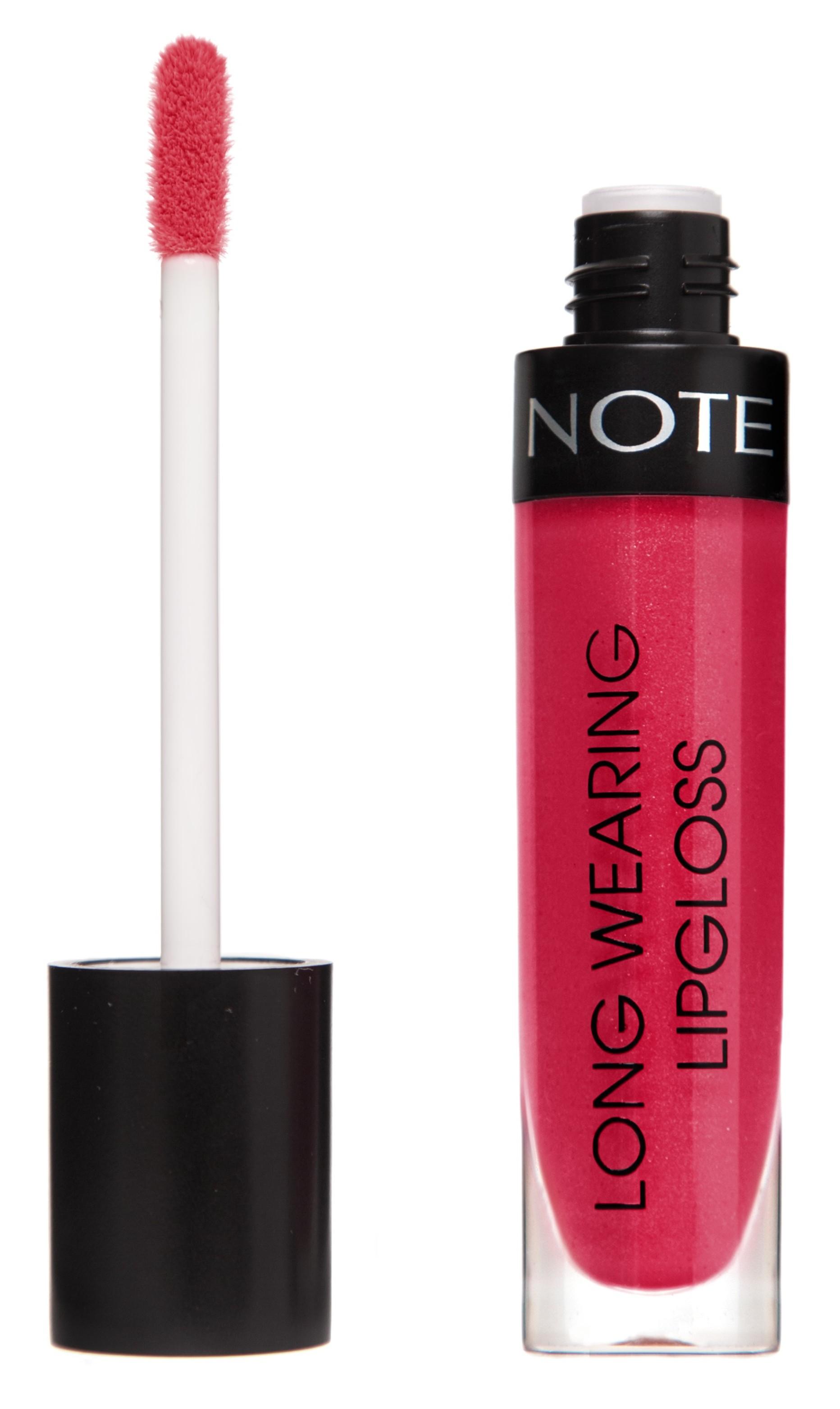 Купить NOTE Cosmetics Блеск стойкий для губ 18 / LONG WEARING LIPGLOSS 6 мл