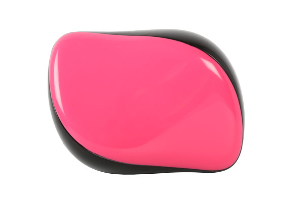 HAIRWAY Щетка Hairway Compact Easy Combing Pink массажная 21ряд.