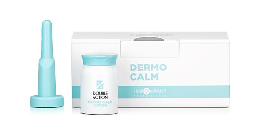 HAIR COMPANY Лосьон смягчающий / Double Action DERMO CALM LOTION 10*10мл