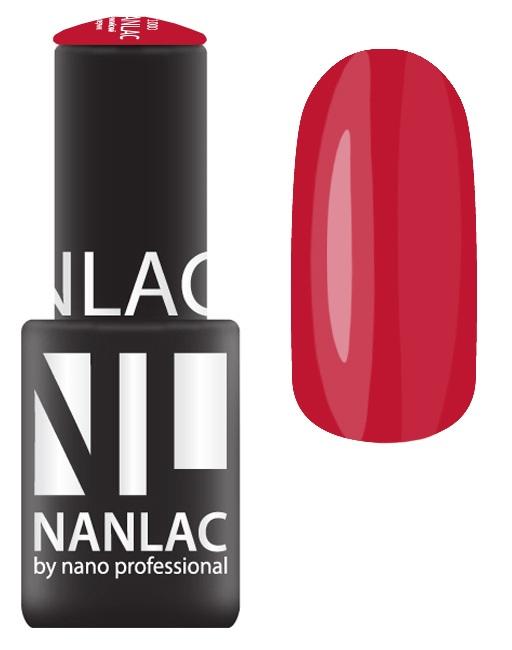 NANO PROFESSIONAL 2155 гель-лак для ногтей, пионовое букле / NANLAC 6 мл