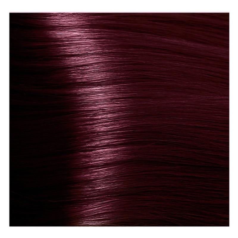 KAPOUS 5.66 крем-краска для волос / Hyaluronic acid 100мл краска для волос kapous professional hyaluronic acid hair color серебро