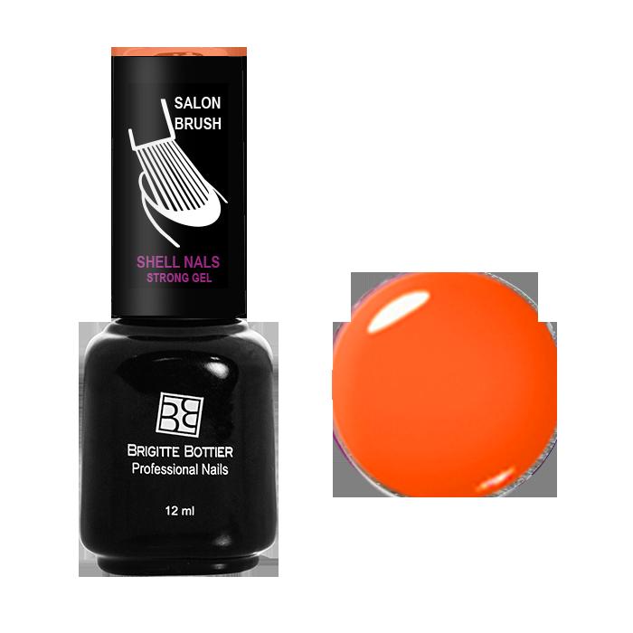 BRIGITTE BOTTIER 993 гель-лак для ногтей, спелая дыня / Shell Nails 12 мл