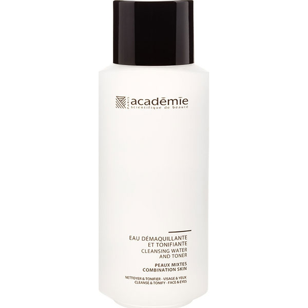 ACADEMIE Средство очищающее универсальное для лица и глаз / VISAGE 250млОсобые средства<br>Очищающее средство для всех типов кожи, особенно для чувствительной и гиперчувствительной. Деликатно удаляет макияж и загрязнения, смягчает и увлажняет кожу. Не содержит раздражающих компонентов, отдушек и красителей. Результат: Чистая, свежая и мягкая кожа без чувства стянутости. Макияж и загрязнения эффективно удалены. Активные ингредиенты: концентрат розовой воды 10%,&amp;nbsp;аллантоин 0.2%,&amp;nbsp;активный гипоаллергенный ингредиент 0.025%,&amp;nbsp;концентрация активных ингредиентов 10.225%. Способ применения:&amp;nbsp;немного средства нанести на ватный диск и аккуратно протереть область лица, век и шеи. Не смывать.<br><br>Объем: 250 мл