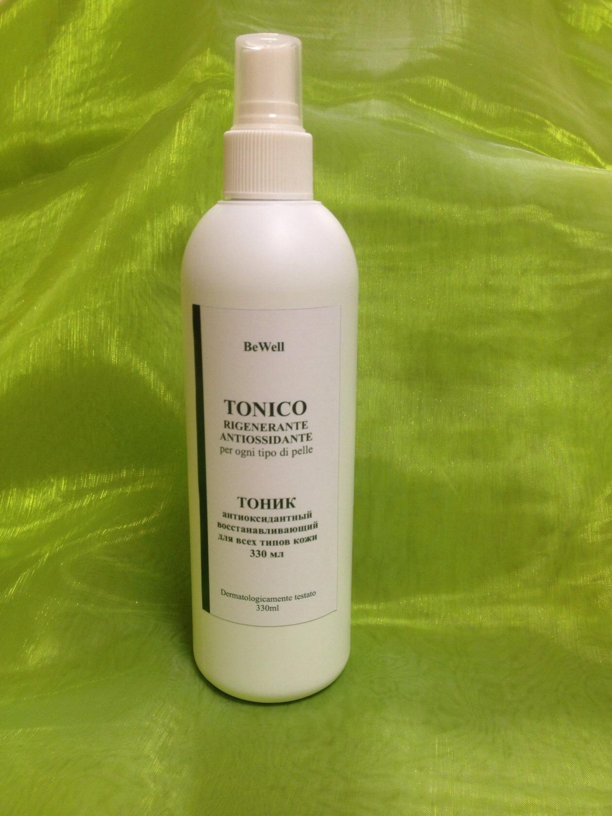 HORTUS FRATRIS Тоник антиоксидантный восстанавливающий для всех типов кожи 330млТоники<br>Предназначен для профессионального и домашнего ухода за сухой, обезвоженной и склонной к куперозу кожей. Тонизирует, стимулирует кровообращение, укрепляет стенки сосудов, способствует обновлению клеток, замедляет процессы старения. Обладает противовоспалительным, дезинфицирующим действием. Также рекомендуется для проблемной кожи и кожи, склонной к куперозу. Активные ингредиенты: кофеин, д-пантенол, мочевина, хвощ, одуванчик, фукус, зеленый чай, каркаде Способ применения: нанести небольшое количество тоника на кожу, легко похлопать пальцами по коже для усиления воздействия средства.<br><br>Объем: 330 мл<br>Вид средства для лица: Восстанавливающий<br>Класс косметики: Профессиональная<br>Назначение: Купероз