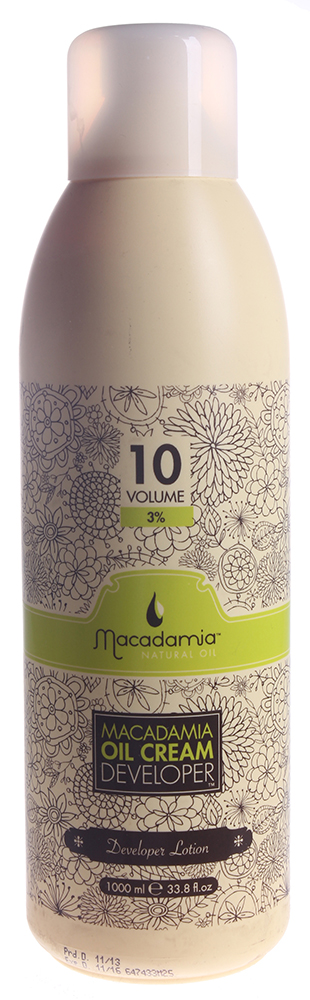 MACADAMIA Natural Oil Окислитель 3% / Developer MACADAMIA COLORS 1000мл