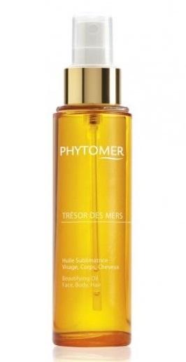 Купить PHYTOMER Масло драгоценное для лица, тела, волос / TRESOR DES MERS BEAUTIFYING OIL FACE, BODY, HAIR 100 мл