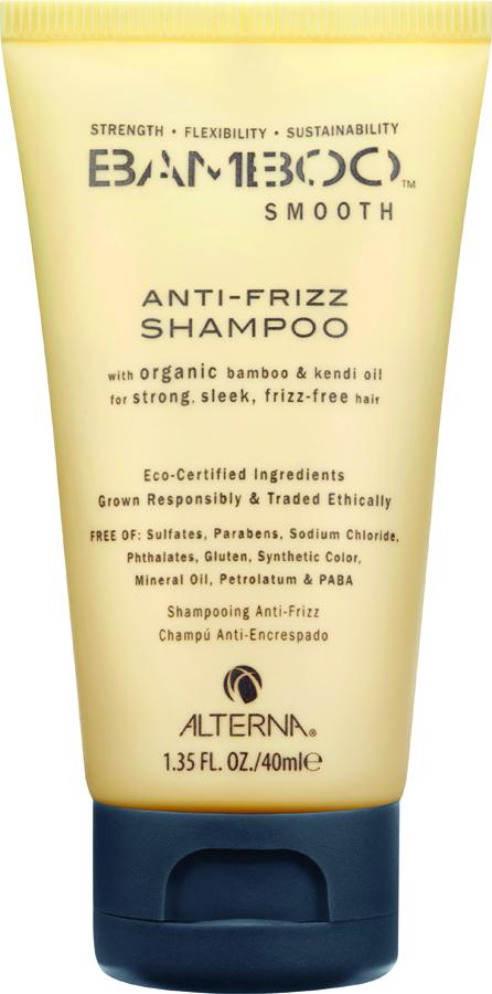 ALTERNA Шампунь полирующий для волос / Smooth Anti-Frizz Shampoo BAMBOO 40 мл масло alterna kendi dry oil micromist