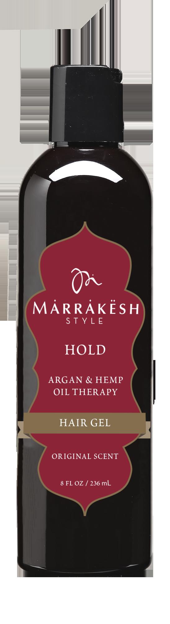 MARRAKESH Гель для укладки / Marrakesh Styling Holding Gel 236 млГели<br>Гель для укладки Marrakesh придает волосам блеск, гладкость и невероятный контроль. Создает укладку без ощущения жесткости и склеивания. Масло Арганы и семян Конопли смягчает волосы. Позволяет создать четкие, гладкие волны, контролирует укладку в течение всего дня. Способ применения: нанести на влажные или сухие волосы. Приступить к укладке.<br><br>Объем: 236 мл