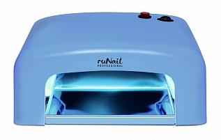 RuNail Прибор ультрафиолетового излучения 36Вт, модель GL-515, синий