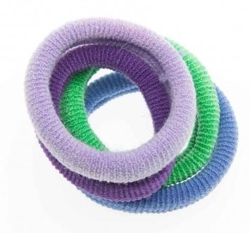 DEWAL BEAUTY Резинки для волос midi цветные 8 шт