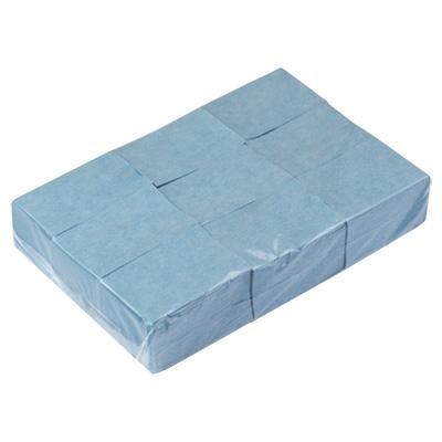 Irisk professional салфетки безворсовые 4*6 см, 02 лазурные 900 шт