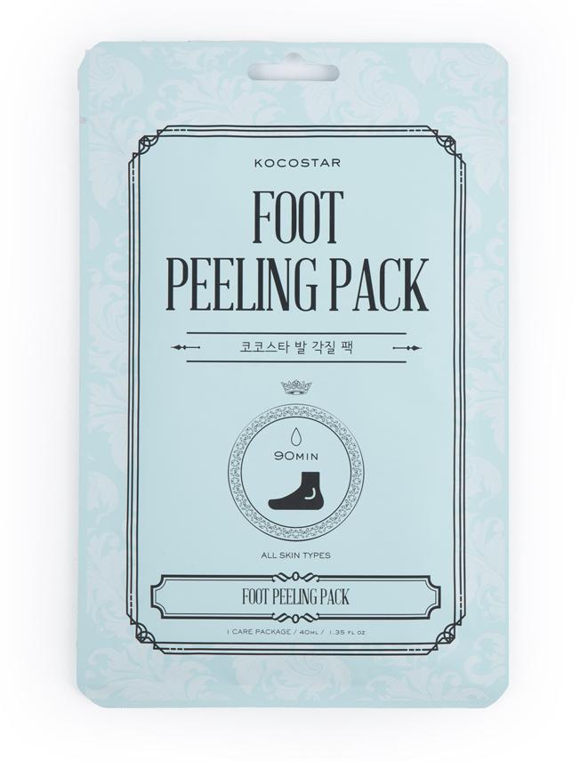 все цены на KOCOSTAR Маска педикюрная Гладкие пяточки (носочки) / FOOT PEELING PACK 40 мл