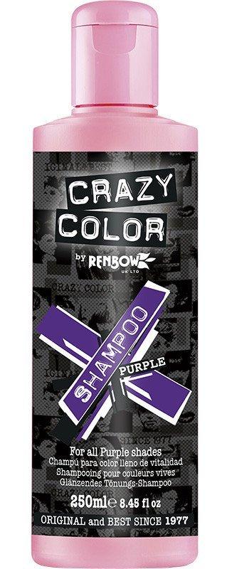 CRAZY COLOR Шампунь для всех оттенков пурпурного / Vibrant Color Shampoo - Purple, 250 мл