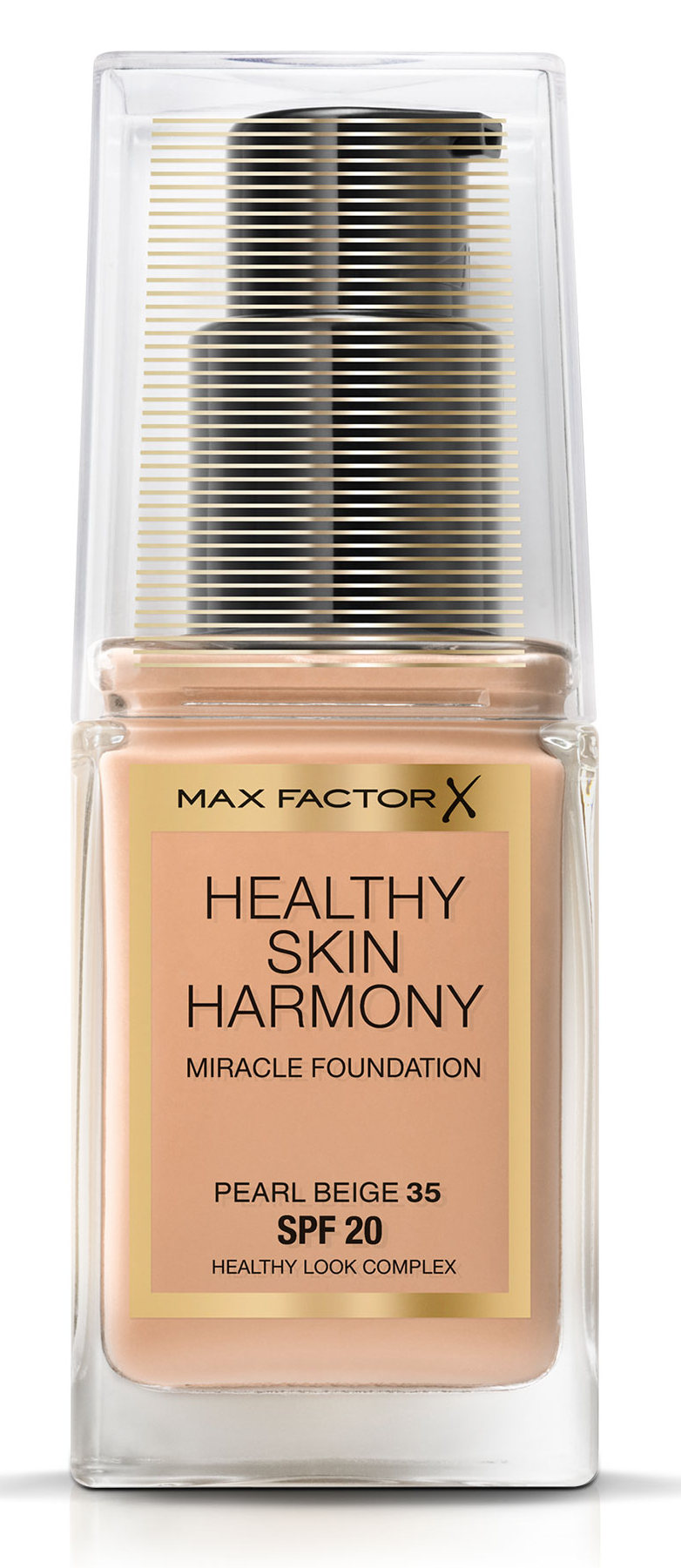 Max factor основа тональная 35 / healthy skin harmony miracle foundation pearl beige