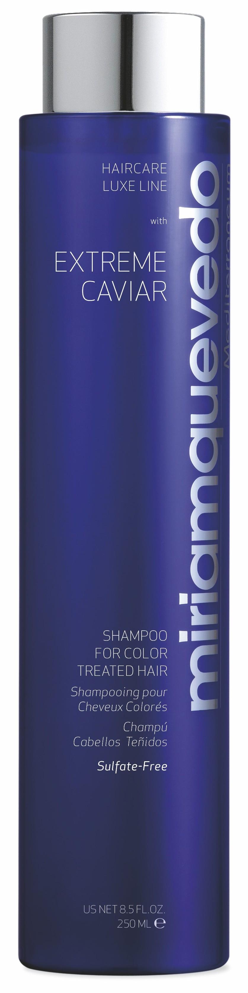 MIRIAM QUEVEDO Шампунь с экстрактом черной икры для окрашенных волос / Extreme Caviar Shampoo for Color Treated Hair 250 мл фото