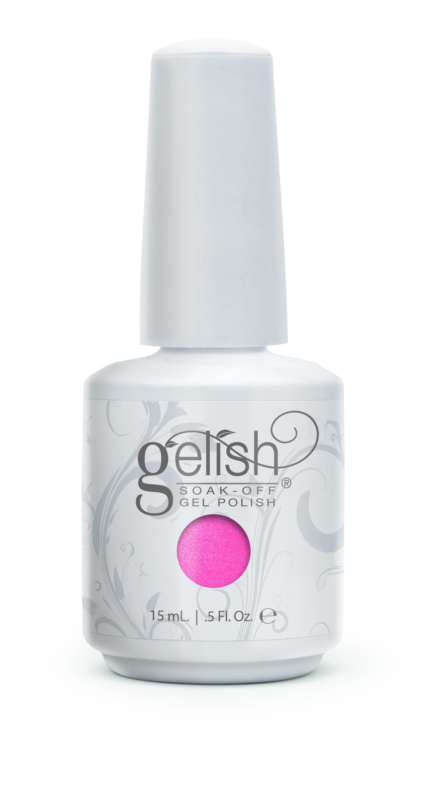 GELISH Гель-лак Its Gonna Be Mei / GELISH 15млГель-лаки<br>Гель-лак Gelish наносится на ноготь как лак, с помощью кисточки под колпачком. Процедура нанесения схожа с&amp;nbsp;нанесением обычного цветного покрытия. Все гель-лаки Harmony Gelish выполняют функцию еще и укрепляющего геля, делая ногти более прочными и длинными. Ногти клиента находятся под защитой гель-лака, они не ломаются и не расслаиваются. Гель-лаки Gelish после сушки в LED или УФ лампах держатся на натуральных ногтях рук до 3 недель, а на ногтях ног до 5 недель. Способ применения: Подготовительный этап. Для начала нужно сделать маникюр. В зависимости от ваших предпочтений это может быть европейский, классический обрезной, СПА или аппаратный маникюр. Главное, сдвинуть кутикулу с ногтевого ложа и удалить ороговевшие участки кожи вокруг ногтей. Особенностью этой системы является то, что перед нанесением базового слоя необходимо обработать ноготь шлифовочным бафом Harmony Buffer 100/180 грит, для того, чтобы снять глянец. Это поможет улучшить сцепку покрытия с ногтем. Пыль, которая осталась после опила, излишки жира и влаги удаляются с помощью обезжиривателя Бондер / GELISH pH Bond 15&amp;nbsp;мл или любого другого дегитратора. Нанесение искусственного покрытия Harmony.&amp;nbsp; После того, как подготовительные процедуры завершены, можно приступать непосредственно к нанесению искусственного покрытия Harmony Gelish. Как и все гелевые лаки, продукцию этого бренда необходимо полимеризовать в лампе. Гель-лаки Gelish сохнут (полимеризуются) под LED или УФ лампой. Время полимеризации: В LED лампе 18G/6G = 30 секунд В LED лампе Gelish Mini Pro = 45 секунд В УФ лампах 36 Вт = 120 секунд В УФ лампе Harmony Mini Portable UV Light = 180 секунд ПРИМЕЧАНИЕ: подвергать полимеризации необходимо каждый слой гель-лакового покрытия! 1)Первым наносится тонкий слой базового покрытия Gelish Foundation Soak Off Base Gel 15 мл. 2)Следующий шаг   нанесение цветного гель-лака Harmony Gelish.&amp;nbsp; 3)Заключительный этап Нане