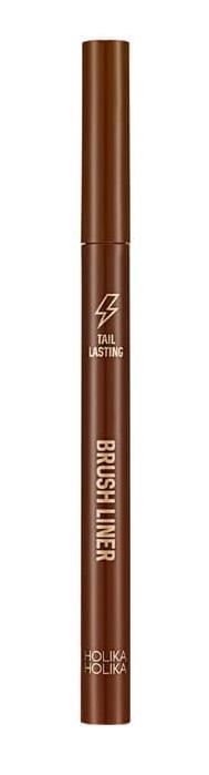 HOLIKA HOLIKA Подводка-фломастер Тэйл Ластинг, 03 коричневая / Tail Lasting Brush Liner 03 soft brown 0,5 г