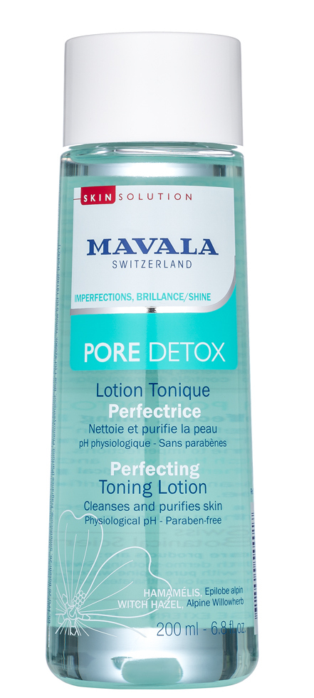 MAVALA Лосьон тонизирующий / Pore Detox Perfecting Toning Lotion 200 мл