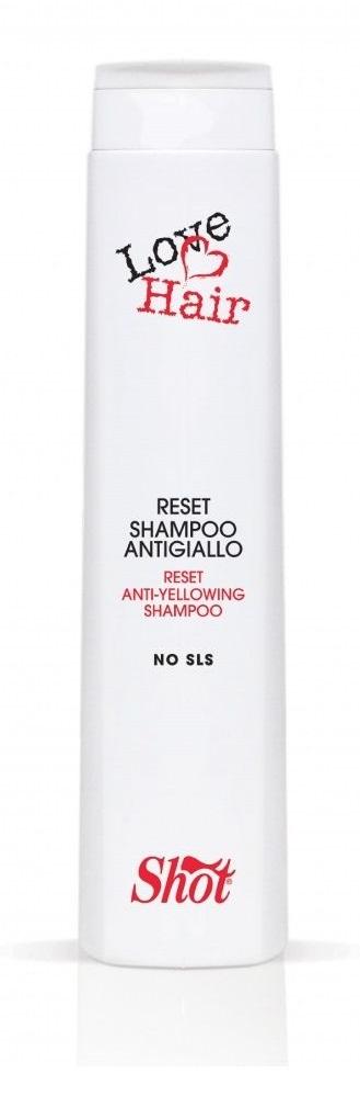 SHOT Шампунь против эффекта желтизны / CHIC TERAPY 300 мл lovien essential шампунь против желтизны для седых или обесцвеченных волос шампунь против желтизны для седых или обесцвеченных волос