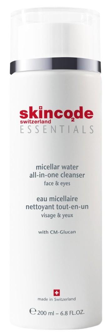 Купить SKINCODE Вода мицеллярная для лица / ESSENTIALS 200 мл