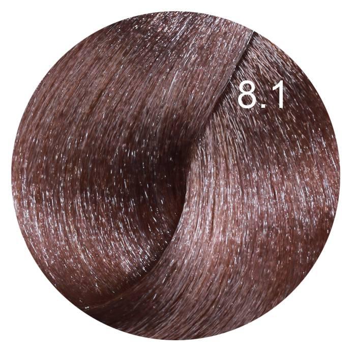 FARMAVITA 8.1 краска для волос, светлый блондин пепельный / LIFE COLOR PLUS 100 мл