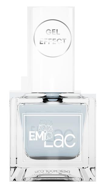 E.MI 044 лак ультрастойкий для ногтей, Арктический лед / E.MiLac Gel Effect 9 мл