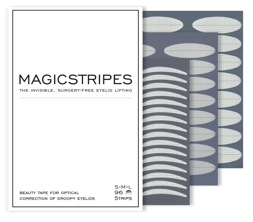 MAGICSTRIPES Полоски силиконовые для поднятия верхнего века / Trial Pack (S + M + L) 96 шт - Особые средства