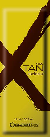 SUPER TAN Ускоритель загара активный с эффектом бронзирования для мужчин / X TAN 15 мл