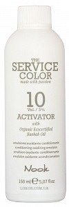 NOOK Активатор 3% (10vol) / ACTIVATOR THE SERVICE COLOR 150мл