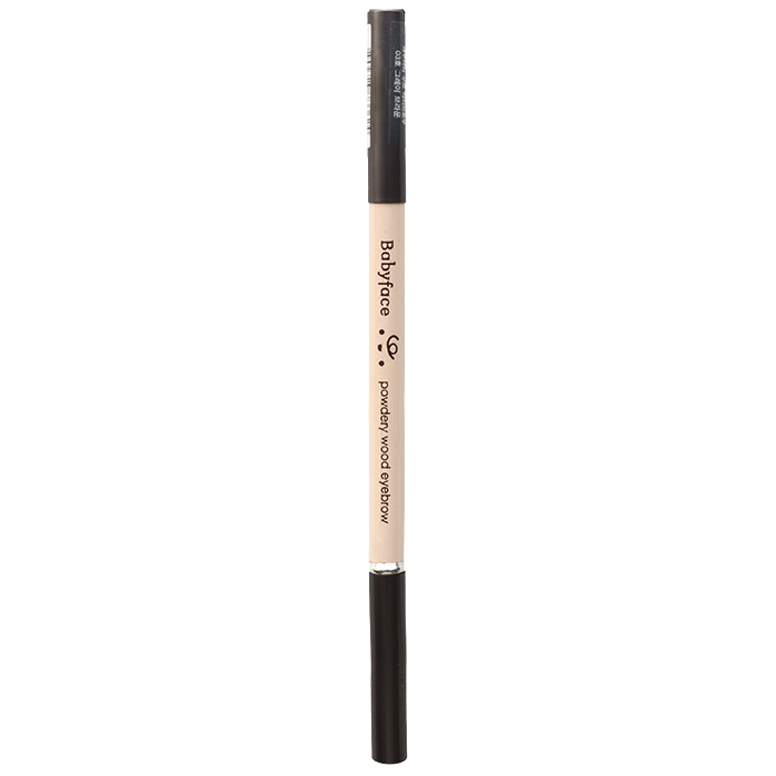 It'S SKIN Карандаш для бровей Бейбифейс, 03 серо-коричневый / Babyface Powdery Wood Eyebrow 03 Gray Brwon 1,1 г