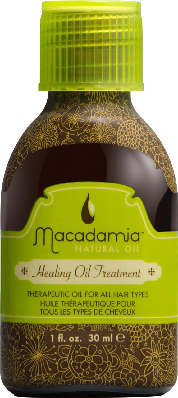 MACADAMIA Natural Oil Уход восстанавливающий с маслом арганы и макадамии (дорожный объем) / Healing Oil Treatment 30млМасла<br>Терапевтическое масло, оптимально подходящее любому типу волос, и особенно полезное для сухих, поврежденных волос. Обеспечивает интенсивное питание, разглаживает и дает легко расчесывающиеся, не пушащиеся волосы. Волосы становятся ультра-гладкими, послушными и блестящими. Мгновенное впитывание, без утяжеления или жирности волос. Предотвращает выцветание интенсивности и насыщенности цвета окрашенных волос. Натуральная УФ защита. Активные ингредиенты: Масло макадамии, масло арганового дерева. Способ применения: Нанесите небольшое количество на влажные или сухие волосы. Прочешите для равномерного распределения. Масло Макадамии можно также добавить к другим кондиционирующим или ухаживающим продуктам или добавить в любой краситель или другие химические препараты (завивка, выпрямление и т.д.) для улучшения абсорбции и эффективности. Для того чтобы улучшить ваше окрашивание, сначала нанесите Macadamia healing treatment на волосы до окрашивания, для того чтобы улучшить стабильность и абсорбцию красителя. Добавьте 2 дозы (нажим помпы) в краситель для того чтобы увеличить блеск, глубину и насыщенность цвета. Смешайте тщательно и наносите краситель как обычно.<br><br>Объем: 30<br>Вид средства для волос: Восстанавливающий