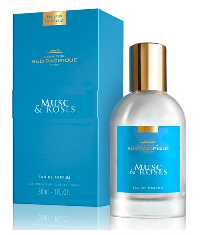 COMPTOIR SUD PACIFIQUE Вода парфюмированная Мускус и розы / LES EAUX DE VOYAGE 30 мл -  Парфюмерия